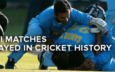 Best ODI Matches Ever Played in Cricket History