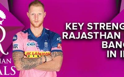 Key Strengths of Rajasthan Royals in IPL 2020