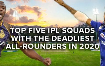 Top Five IPL Squads with the Deadliest All-Rounders in 2020
