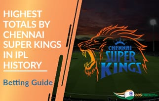 Highest Totals by Chennai Super Kings in IPL History