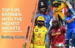 Top 5 IPL Batsmen with the Highest Wickets